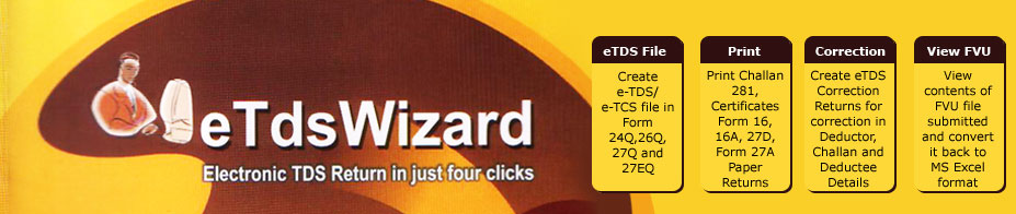 Etds wizard - Products - KGR INFOTECH